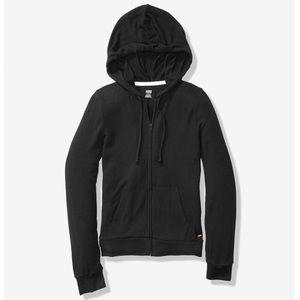 PINK Victoria's Secret Sweaters - Cozy Perfect Full-Zip - pure black